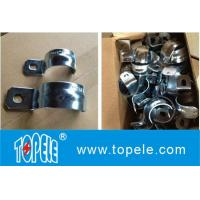 IMC Conduit And Fittings,Zinc Plated Steel One Hole EMT / IMC Conduit Straps/UL listed galvanized steel Rigid one hole s Manufactures
