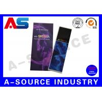 China Holographic Rolled Custom E Liquid Labels For e Cig Juice Bottles With Different Flavors on sale