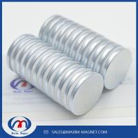 Buy cheap Rare earth permanent strong neodymium disc magnets small and big size from wholesalers