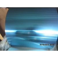 0.095MM Thickness Hydrophilic Blue Fins Coated Color For Evaporator Coil Manufactures