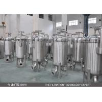 Stainless Steel Single Bag Filter Housing,Water Filter Housing For Waste Water Manufactures