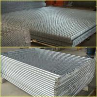 China Hog Galvanized coated welded wire fence panels for sale on sale
