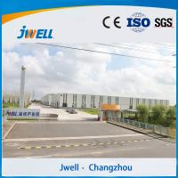 Jwell portable  PVC (WPC)  fast loading wallboard extrusion line for baseboard Manufactures