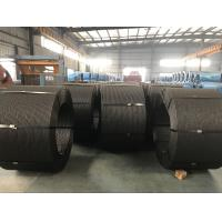 China Non - Alloy ASTM PC Strand Wire Galvanized Seven Strand Wire With Low Stress on sale