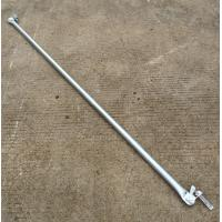 Quality Support 2.42 M Galvanized Steel Scaffolding Easy Erect / Dismantle For Building for sale