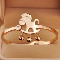 2014 New stainless steel bangle 18K Gold plated-BG01 Manufactures
