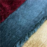 Buy cheap 4MM fabric brushed soft velboa short pile knitted fabric from wholesalers