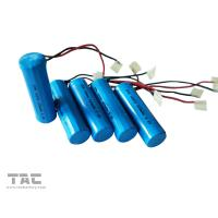 China 14505 aa 600mah 3.2V Lifepo4 Battery Pack With Pcb For Flash Light on sale