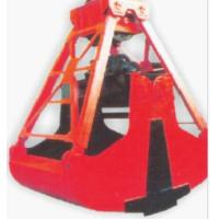 Double ears shaft four rope grab bucket Manufactures