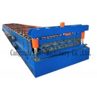 YX-1020 Color Roofing Sheet Roll Forming Machine GI PPGI Raw Material Manufactures