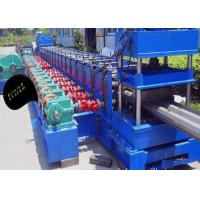 2 Waves Highway Guardrail Roll Forming Machine Gear Box Drive Type 3 Phases Manufactures