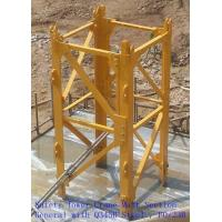 Safety Tower Crane Mast Section General With Q345B Steel , F0/23B Manufactures