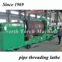 Quality CNC Pipe Threading Lathe High Durability With 355mm Spindle Bore for sale