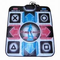 TV USB 36-music and 2-game Dance Pad with PVC Non-toxic Ink Printed Surface Finish Manufactures