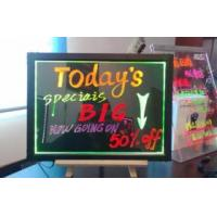 led writing board,led writing panel Manufactures