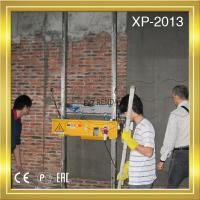 Spray Cement Plastering Machine Operation Process Brick Wall Manufactures