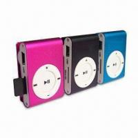 China MP3 Players with MicroSD Slot, WMA Decoding Formats and Clip on sale