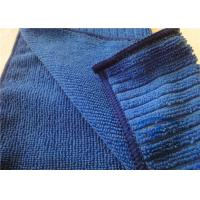 """Ultra-Absorbent Blue Microfiber Kitchen Towels For Kitchen Cleaning 12"""" x 16"""" Manufactures"""