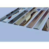 Polished Finishes Matt Stainless Steel Wall Trim Wall Panel Trim 201 304 316 Manufactures