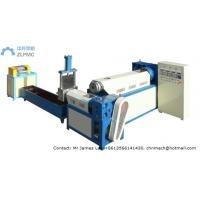High Efficiency Bottle Recycling Machine , PVC Granulating Machine Manufactures
