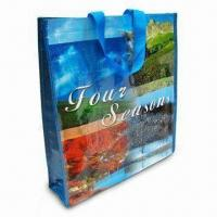 Shopping Bag, Made of Woven PP Material, Measures 38 x 42 x 10cm Manufactures