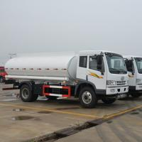 Faw J5K 4x2 6 Wheels 10000 Liters Truck Mounted Water Tank Diesel Fuel Type Manufactures
