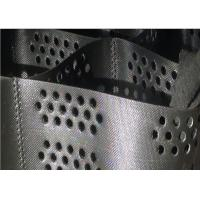 1.5mm thickness Black Color Hdpe Geocell, Geomesh for road construction
