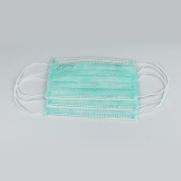 Disposable Earloop 3 Ply Face Mask For Personal Heath Care Manufactures