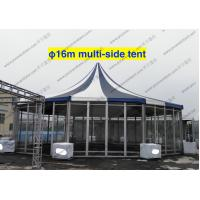 PVC Fabric Polygon Tent Multi - Side , ISO 9001 Approved Pagoda Canopy Tent Manufactures