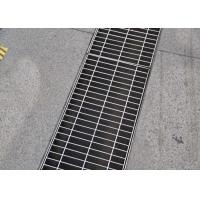 25 X 5 Heavy Duty Grating Cover , ISO SGS Certificate Driveway Trench Drain Grates Manufactures