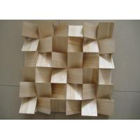 Fireproof Wood Wall Panels Acoustic Diffuser Panel With BT New Pattern Manufactures