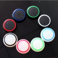 China Double Color Thumb Stick Grip Silicon Cap Joystick Cover Case Silicon Cap for PS4 Xbox one PS3 Xbox 360 Controller on sale