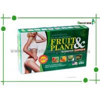 Quality Green Herbal Fruit Botanical Slimming Pills Non Toxic for Fat Loss & Health Care for sale