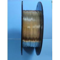 Buy cheap OEM Ribbon Electrical Wire 1.3 * 0.4 Mm White Coppe Wei Ting Brand from wholesalers