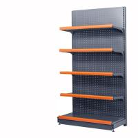 Powder Coated Supermarket Display Racks  / Grocery Store Display Shelf Manufactures