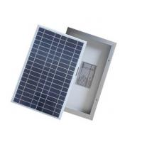 House Polycrystalline Silicon Solar Panels Antireflective Glass Silver Frames Manufactures
