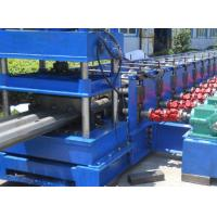 3 Waves Highway Profile Steel Roll Forming Machine For Expressway Guard Bars Use 45Kw Motor and Hydraulic Cutting Manufactures