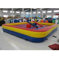 China Amusement Park Inflatable Sports Games Inflatable Jousting / Gladiator Digital Printing on sale