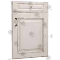 Security Wooden Moulded Doors Melamine Pvc Composite Anti - Corrosion Manufactures