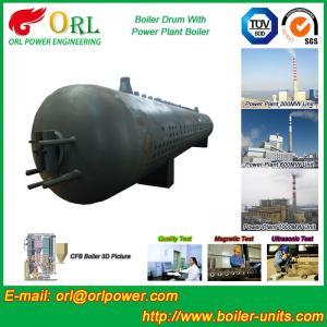 80 Ton Fire Tube Boiler Mud Drum Longitudinal Environment Friendly Manufactures