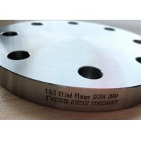 China Pipe Fittings And Flanges Carbon Steel / Stainless Steel / Cu Ni Material Blind Flange on sale