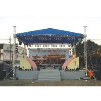 Aluminum Space Stage Lighting Truss Structure 4 Pillar Truss Stand For Concert Event Manufactures