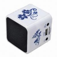 New Music Angle Mini Portable Speaker Player, SD/TF Card Slot for PC iPod MP3 Player Manufactures