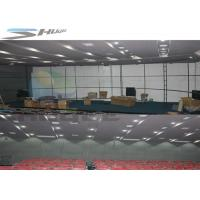 6 / 9 / 12 / 18 Persons 4D Motion Cinema Movie Theater With Hydraulic Control Motion Chair Manufactures