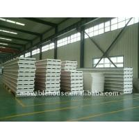 Waterproof Structural Insulated Panels Galvanized Steel With Fire Insulation Manufactures