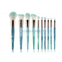 10pcs  Soft Synthetic Hair Mass Level Makeup Brushes Globle - Look Manufactures