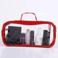 Eco - Friendly PVC Cosmetic Bag With Silk Screen Heat Transfer Printing Manufactures