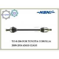 Toyota COROLLA Auto Drive Shaft 43410-12A10 Rubber And Steel Material Manufactures