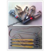 Quality Earth rod and fitting&grounding devince,+copper wire+hook for sale