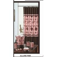 Allurer Decorative Shower Window Curtain Transfer Printing 110 GSM Manufactures